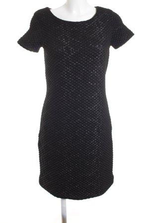 HUGO Hugo Boss Shirtkleid schwarz-dunkelgrau