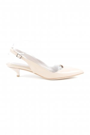 HUGO Hugo Boss Slingback Pumps cream casual look