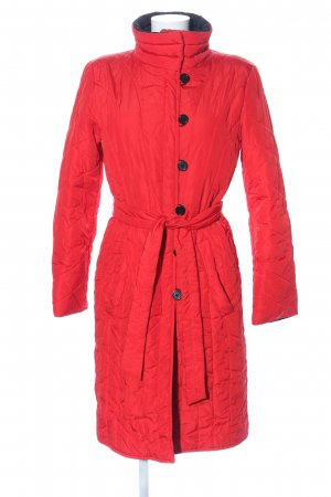 HUGO Hugo Boss Quilted Coat red quilting pattern casual look