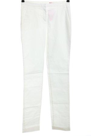 HUGO Hugo Boss Pantalon en jersey blanc tissu mixte