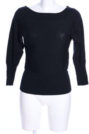 HUGO Hugo Boss Camicia maglia nero stile casual