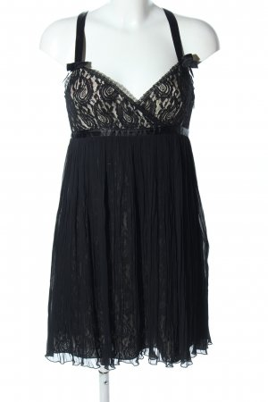 HUGO Hugo Boss Trägerkleid schwarz Blumenmuster Elegant
