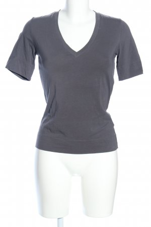 HUGO Hugo Boss V-Neck Shirt light grey allover print casual look
