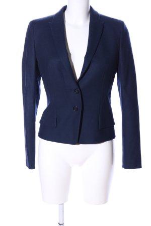 HUGO Hugo Boss Blazer in lana blu stile professionale
