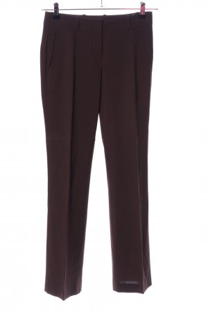 HUGO Hugo Boss Woolen Trousers brown business style