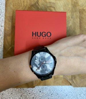 HUGO Hugo Boss Horloge met metalen riempje veelkleurig