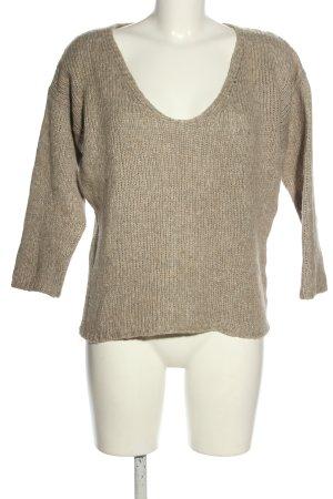 Humanoid V-Ausschnitt-Pullover wollweiß Casual-Look