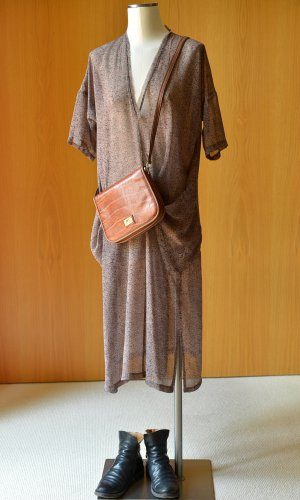 HUMANOID XS/S Seidenkleid geblümt Seide Maxikleid Sommerkleid oversized
