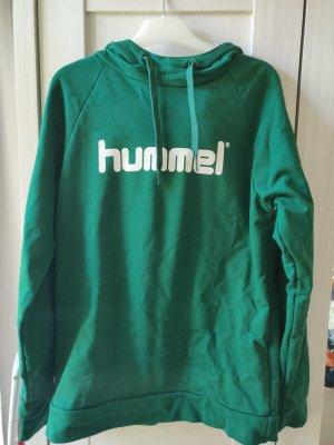 Hummel Maglione con cappuccio verde
