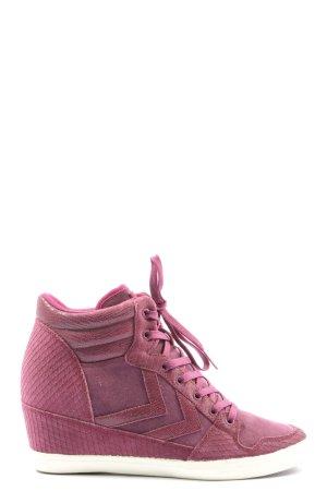 Hummel High Top Sneaker pink Casual-Look