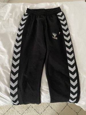 Hummel Pantalon strech blanc-noir