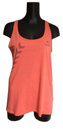 Hummel T-shirt de sport orange clair coton