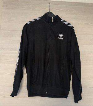 Hummel Veste de sport noir-blanc