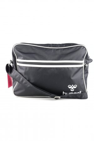 Hummel Borsa sport nero-bianco stile casual