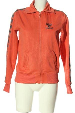 Hummel Sweat Jacket light orange casual look