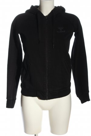 Hummel Giacca fitness nero Stampa a tema stile casual
