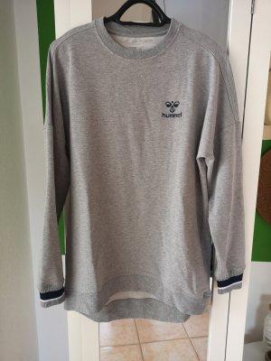 Hummel Robe Sweat gris clair-bleu foncé