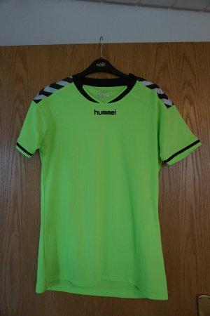 Hummel T-shirt de sport vert fluo polyester