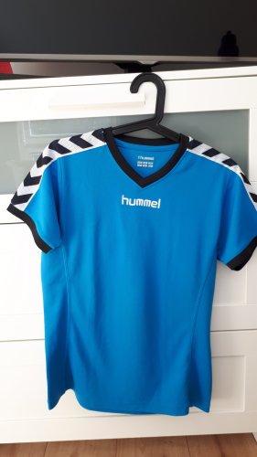 Hummel Trainingsshirt türkis blau