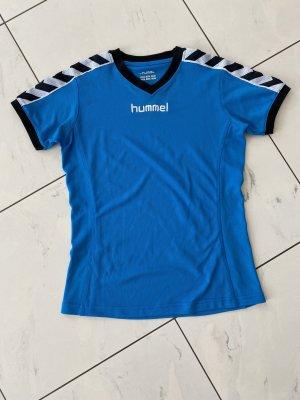 Hummel T-shirt de sport bleu