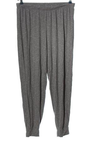 Hunkemöller Luźne spodnie jasnoszary Melanżowy W stylu casual