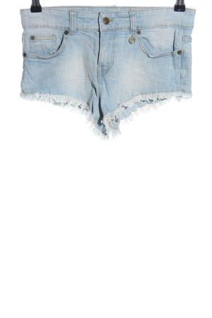 Hunkemöller Hot Pants blau Casual-Look
