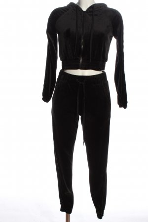 Hunkemöller Twin Set tipo suéter negro look casual