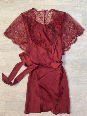 Hunkemöller Kimono Mantel Morgenmantel Dessous wickelkleid