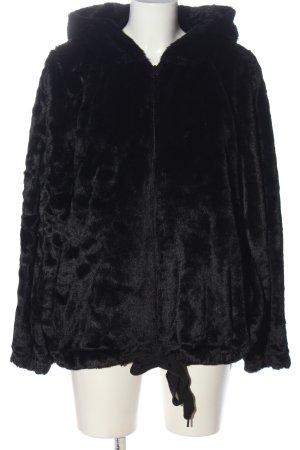 Hunkemöller Fake Fur Jacket black casual look