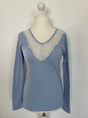 Hunkemöller Pyjama blanc-bleu azur