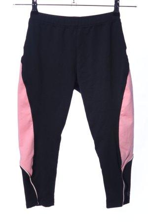 Hunkemöller Leggings schwarz-pink Casual-Look