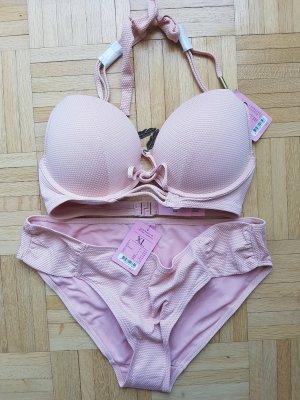 Hunkemöller Maximizer Push up Bikini Gypsy Chic 80D, XL, rose