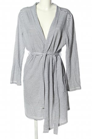 Hunkemöller Dressing Gown white-blue striped pattern casual look