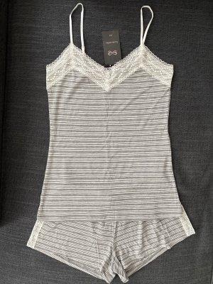 Hunkemöller Nachtwäsche Set Shirt + Shorts Gr. XS