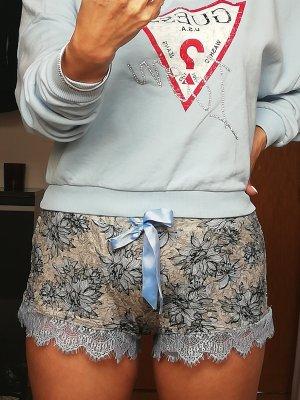 Hunkemöller Pyjama bleu azur