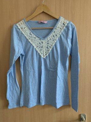 Hunkemöller Pyjama azure-white