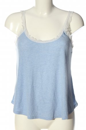 Hunkemöller Strappy Top blue-white flecked casual look
