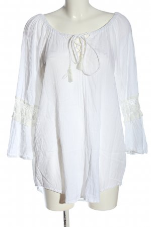 Hunkemöller Tuniekblouse wit casual uitstraling