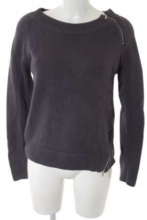 Hunkydory Strickpullover grau Casual-Look
