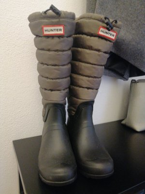 Hunter Wellies black-green grey
