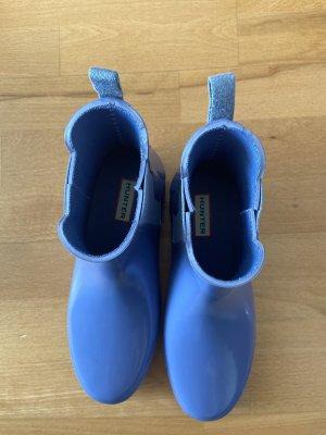 Hunter Stivaletto slip-on blu fiordaliso