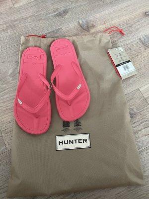 Hunter Flip Flops Pink neu 40