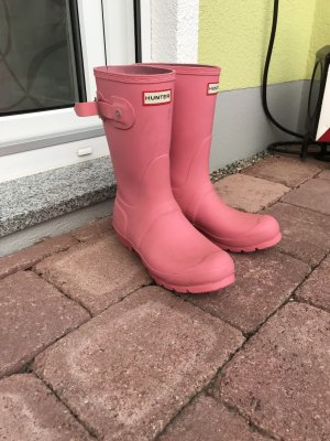 Hunter Wellies pink