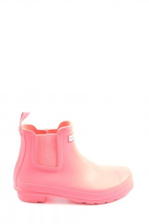 Hunter Gummistiefel pink Casual-Look