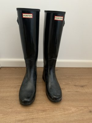 Hunter Wellies black-anthracite