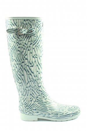 Hunter Gumowe buty Na całej powierzchni W stylu casual