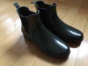 Hunter Wellington laarzen donkergroen