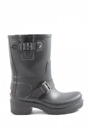Hunter Gummistiefel schwarz Casual-Look
