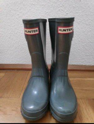 Hunter Botte en caoutchouc gris