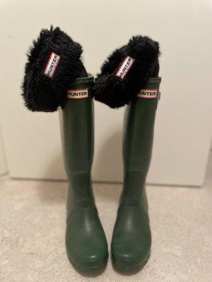 Hunter Wellington laarzen groen